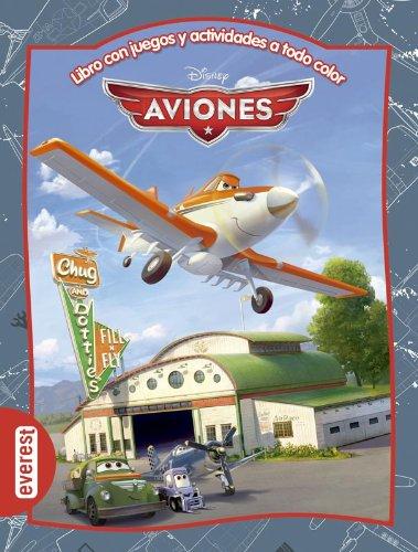 Aviones. Libro con juegos y actividades a: Walt Disney Company