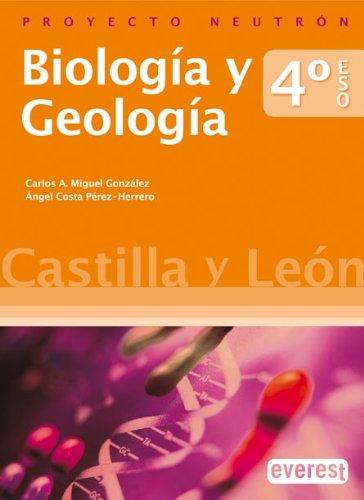 9788444170121: Biología y Geología 4º ESO. Separata Castilla y León. Proyecto Neutrón - 9788444170121