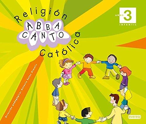 9788444170671: Religión Católica. Abbacanto 3 años