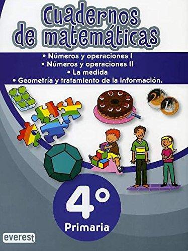 9788444171357: Carpeta de Matemáticas. 4º Primaria