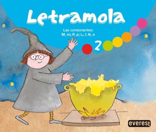 9788444171890: Letramola 2: Las consonantes: M, m; P, p; L, l; N, n. (Lletramola) - 9788444171890