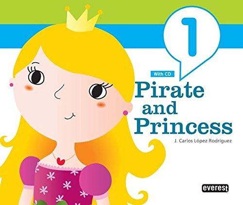 9788444172569: Inglés Pirate and Princess 3 años - 9788444172569