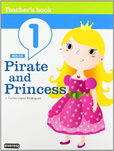 9788444172576: Inglés Pirate and Princess 3 años. Guía: Teacher's Book