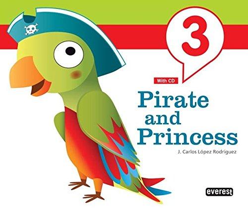 9788444172606: Inglés Pirate and Princess 5 años - 9788444172606
