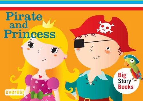 9788444173887: Inglés Pirate and Princess. Big Story Books. Maletín cuentos 3, 4 y 5 años