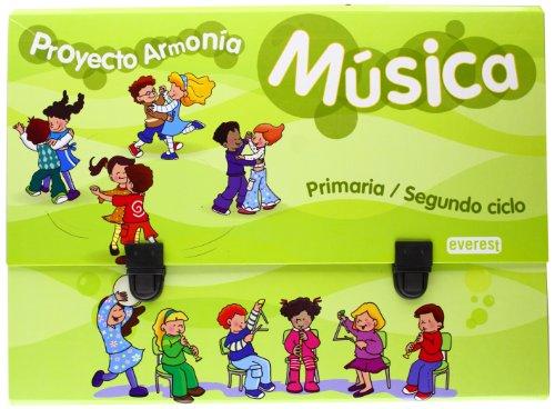 9788444174341: Música. Primaria / Segundo ciclo. Proyecto Armonía. Material Complementario
