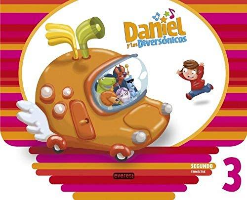 9788444174419: Daniel y los Diversónicos. 3 años. Segundo Trimestre - 9788444174419