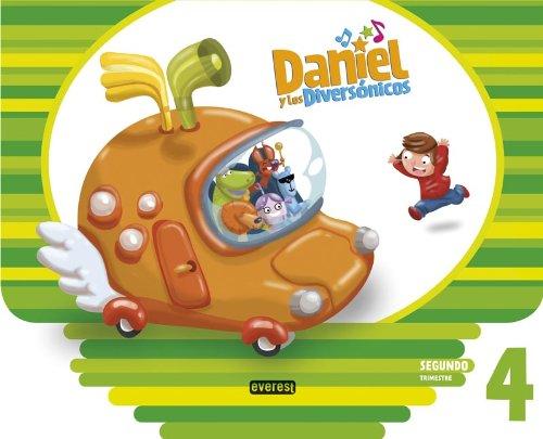 9788444174440: Daniel y los Diversónicos. 4 años. Segundo Trimestre