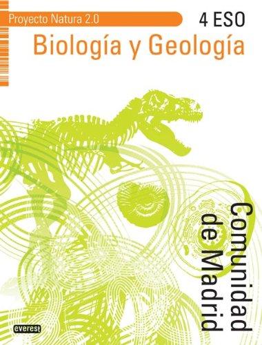 9788444175379: Biología y Geología 4º ESO. Proyecto Natura 2.0 Comunidad de Madrid - 9788444175379