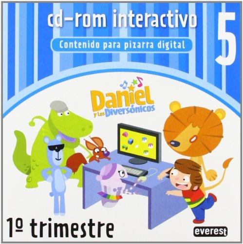 9788444175447: Daniel y los Diversónicos 5 años. 1º trimestre. Cd-rom interactivo: contenido para pizarra digital