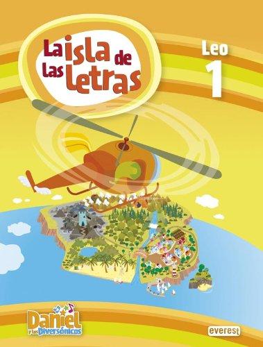 9788444176123: Daniel y los Diversónicos. La Isla de las letras. Leo 1 - 9788444176123