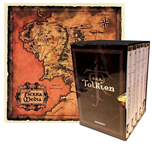 9788445077641: Estuche Tolkien 6 vols. + mapa (Biblioteca J. R. R. Tolkien)