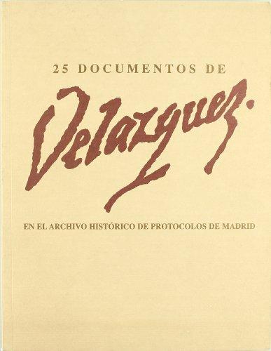 25 Documentos De Velazquez Archivo Historico De Protocolos De Madrid: Baztan, Carlos