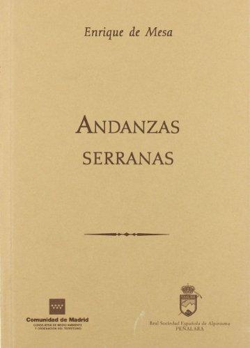 9788445127629: andanzas_serranas