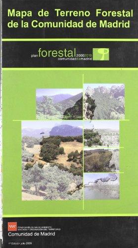 9788445132319: Mapa de terreno forestal de la comunidad de Madrid