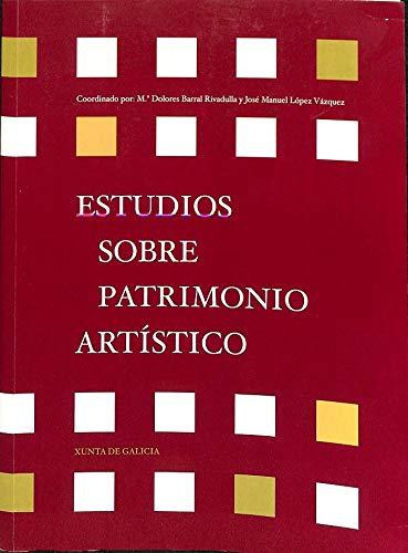 9788445333402: Estudios Sobre Patrimonio Artístico