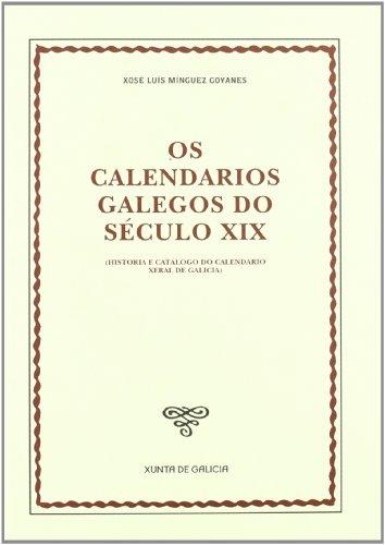 9788445339398: Os calendarios galegos do século XIX