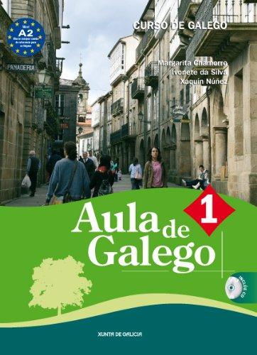 9788445345818: AULA DE GALEGO 1 (CURSO DE GALEGO) CON CD