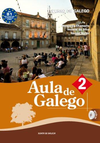 9788445347959: Aula de galego 2: Curso de galego