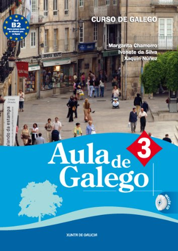 9788445348390: AULA DE GALEGO 3 (CURSO DE GALEGO) CON CD