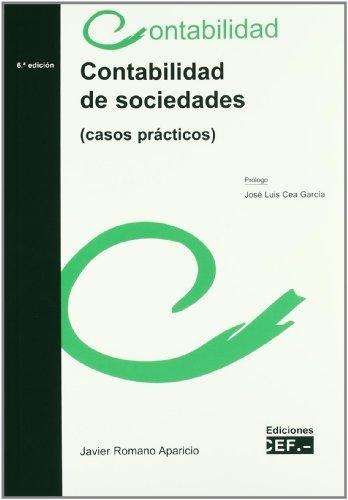 9788445416266: Contabilidad de sociedades : casos prácticos