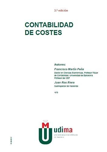 9788445422441: CONTABILIDAD DE COSTES