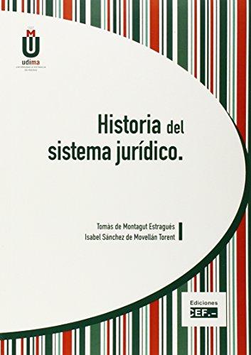 9788445422830: HISTORIA DEL SISTEMA JURÍDICO