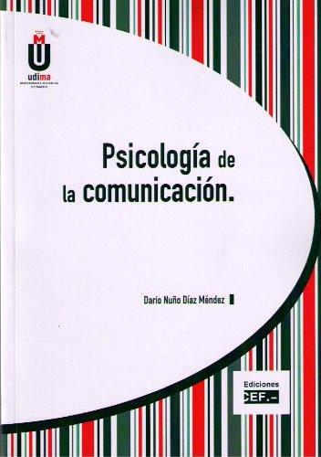 9788445424803: PSICOLOGIA DE LA COMUNICACION