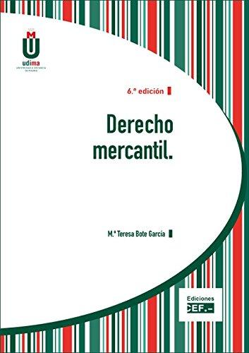 9788445431771: Derecho mercantil