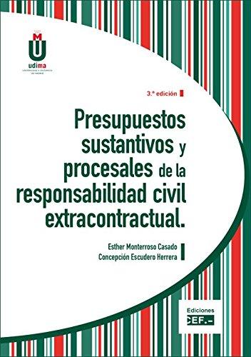 Presupuestos sustantivos y procesales de la responsabilidad: Moterroso E