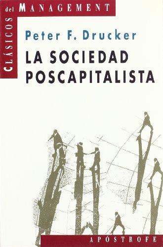 9788445500538: La sociedad postcapitalista