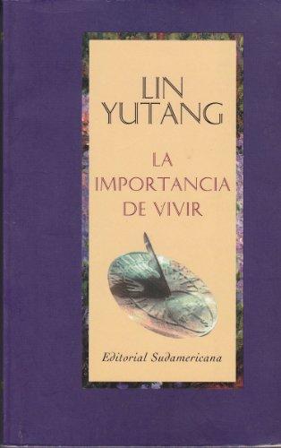 9788445500958: Importancia de Vivir, La (Spanish Edition)