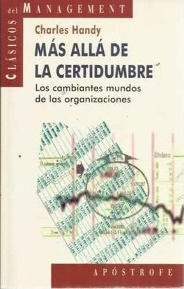 9788445501429: Mas Alla de La Certidumbre (Spanish Edition)