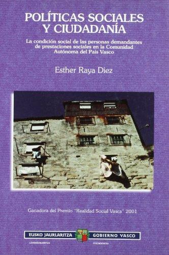 Politicas Sociales Y Ciudadania: Esther Raya Diez