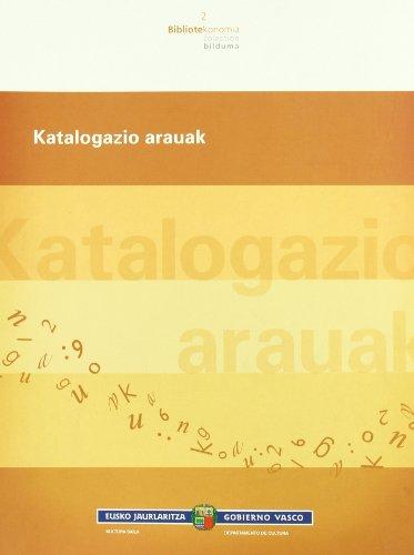 9788445727034: Katalogazio Arauak (Bibliotekonomia)