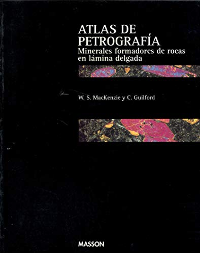 9788445804261: Atlas of the Rock-Forming Minerals in Thin Section: Spanish Edition