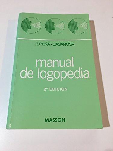 9788445805329: Manual de logopedia