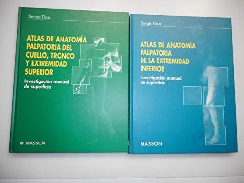 9788445807293: (2) atlas de anatomia palpatoria de la extremidad inferior