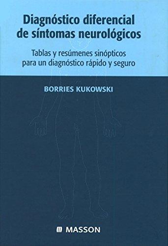 9788445809914: Diagnóstico diferencial de síntomas neurológicos © 2001