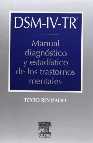 9788445810873: DSM IV Tr Manual Diagnostico Y Estadistico De Los Trastornos Mentales