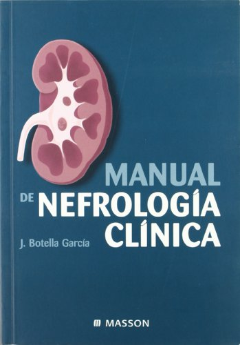 9788445811597: MANUAL DE NEFROLOGIA CLINICA