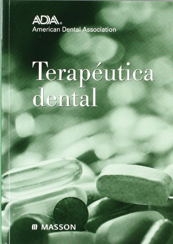 9788445812099: Terapéutica dental