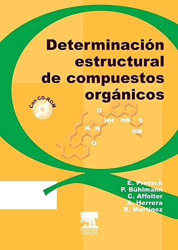 9788445812150: Determinación estructural de compuestos orgánicos + CD-ROM
