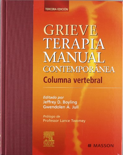 9788445816059: Grieve: Terapia Manual Contemporanea (Spanish Edition)