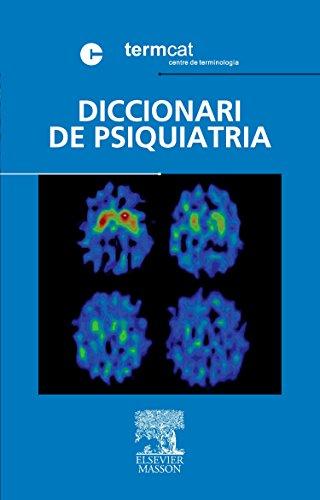 9788445817742: Diccionari de Psiquiatria