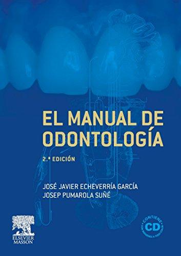 9788445817797: El manual de odontología + CD-ROM