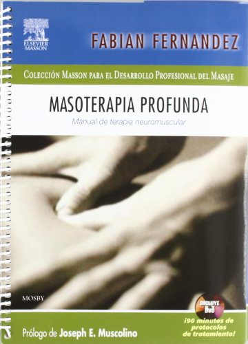9788445818992: Masoterapia profunda + DVD-ROM en inglés