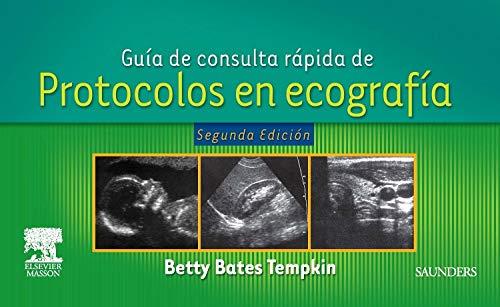 9788445819029: Guia de consulta rapida de protocolos en ecografia