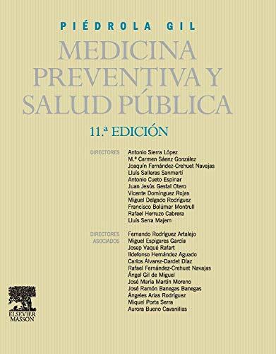 9788445819135: PIÉDROLA GIL. Medicina preventiva y salud pública