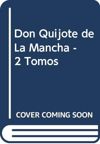 9788445901434: Don Quijote de La Mancha - 2 Tomos (Spanish Edition)